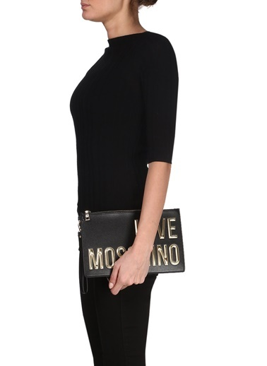Clutch / El Çantası-Love Moschino